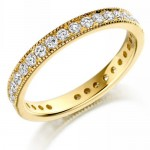 0.75 carat Full Hoop Available in 9ct Gold, 18ct Gold & Platinum